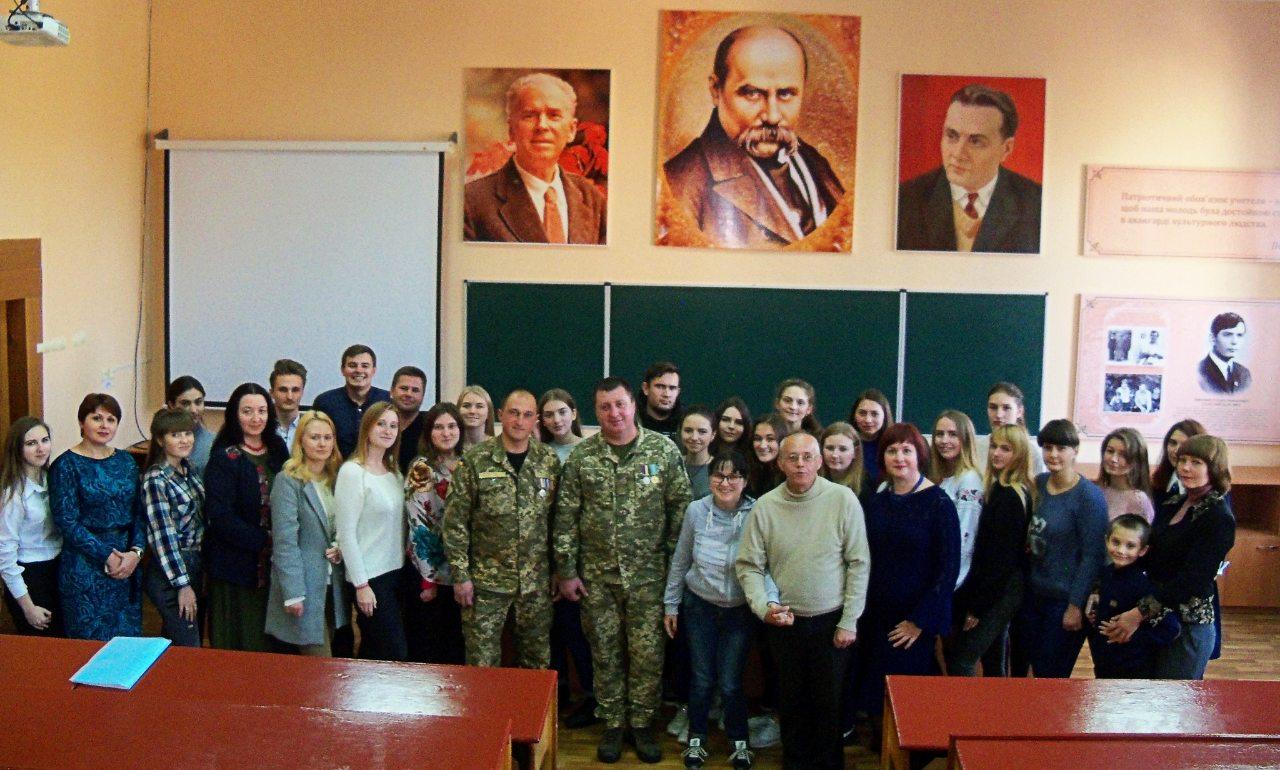 Зустріч із учасниками ООС Збройних Сил України