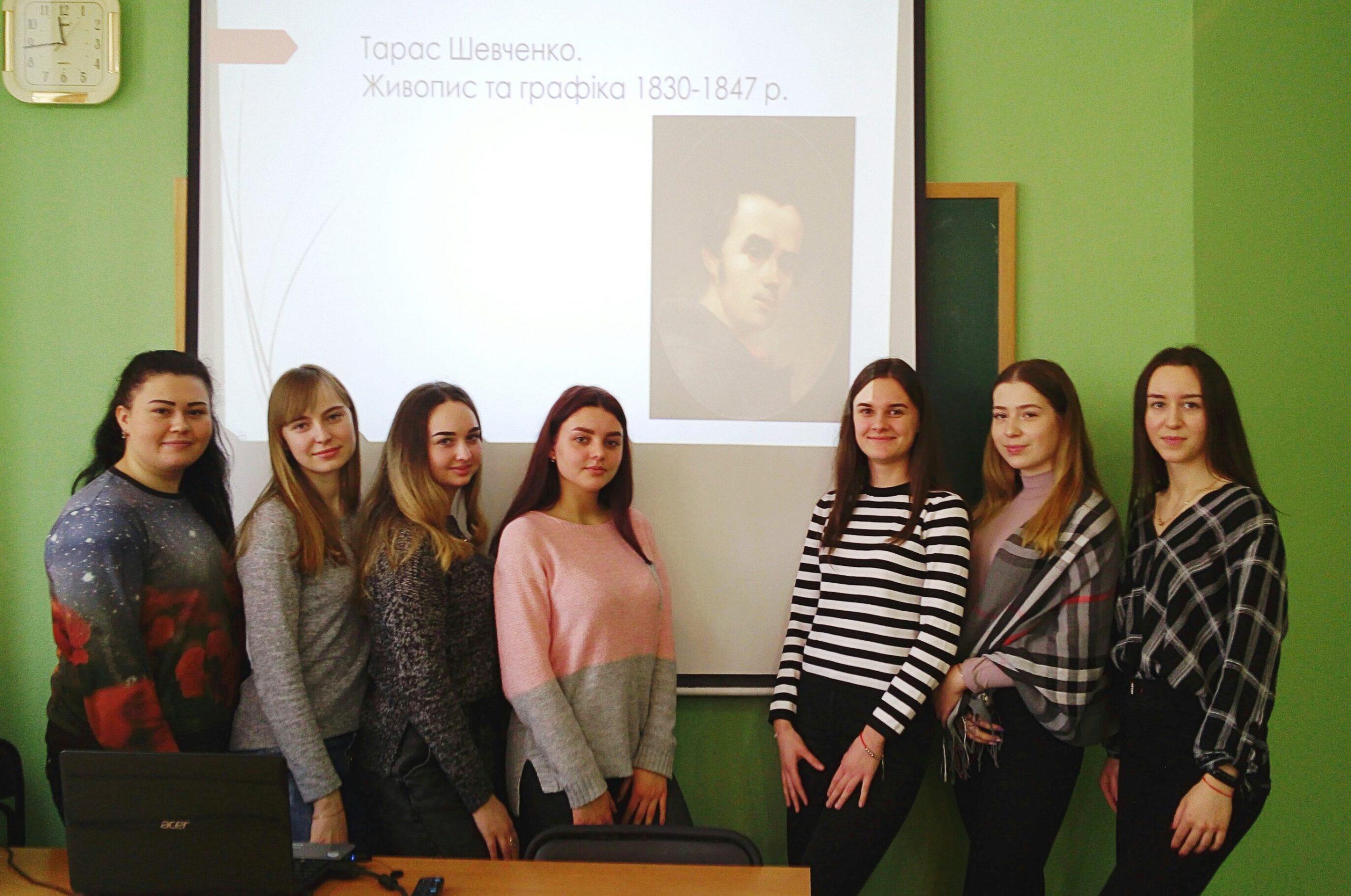 Тарас Шевченко – майстер живопису та графіки