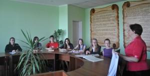 Засідання Лінгвокраєзнавчого студентського наукового товариства імені А. Кримського