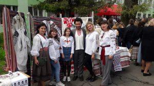 Традиційну вишивку Уманщини філологи представили у Вінниці