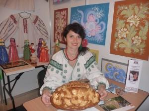Наталія Мамчур на Міжнародній виставці в Туркменистані