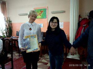 Учасницю університетського літоб'єднання імені М.Бажана нагороджено грамотою Уманської міської ради