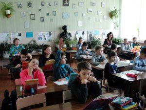 Перші самостійні уроки з Т. Г. Шевченком
