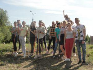 На Пагорбі трудової студентської слави