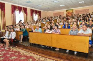 Зустріч зі студентами першого курсу