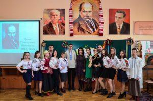 Урочистості  з нагоди  205 річниці від дня народження  Тараса Григоровича Шевченка
