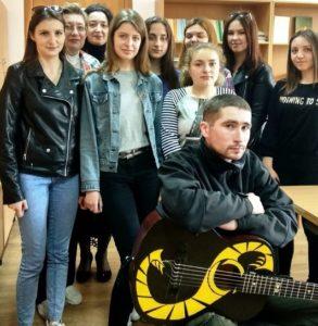 Зустріч студентів факультету української філології  з учасником воєнних дій – Артуром Круком