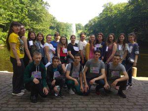 Філологи – учасники Всеукраїнського студентського легкоатлетичного забігу «Одна миля – 2019»