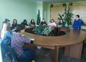 Вступне засідання Лінгвокраєзнавчого студентського  наукового товариства імені Агатангела Кримського