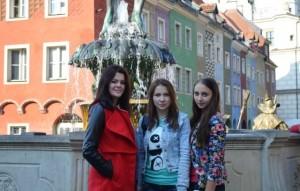 Студенти у місті Лєшно